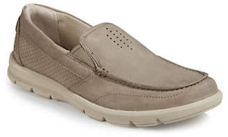 Clarks Jarwin Leather Slip-On Shoes