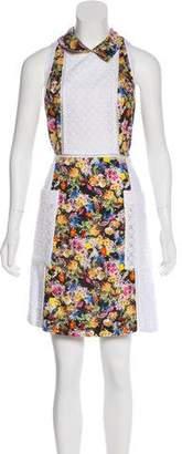Mary Katrantzou Eyelet Lace Knee-Length Dress w/ Tags