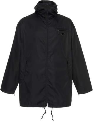 Prada Hooded Coach's Jacket