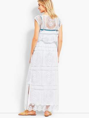 Talbots Lace Maxi Dress Cover-Up