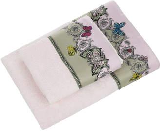Versace Le Jardin Pink Towel