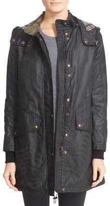 Women's Belstaff Wembury Waxed Cotton Jacket $850 thestylecure.com