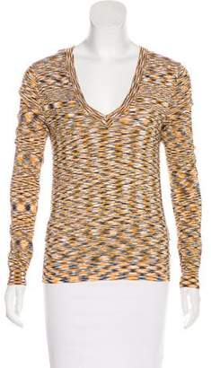 MICHAEL Michael Kors Knit Long Sleeve Top