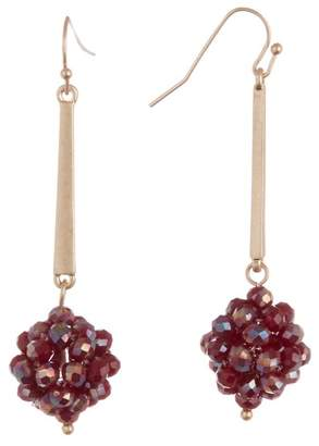 Melrose and Market Beaded Ball Drop Earrings
