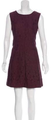 Diane von Furstenberg Sleeveless Lace Mini Dress