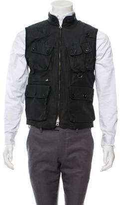 Polo Ralph Lauren Leather-Trimmed Utility Vest