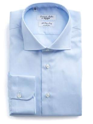 Todd Snyder Emanuele Maffeis + Light Blue Wrinkle Free Dress Shirt