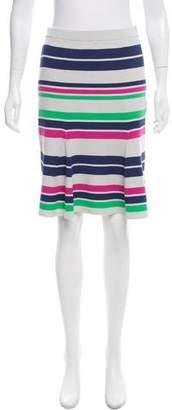 Tanya Taylor Striped Knee-Length Skirt w/ Tags