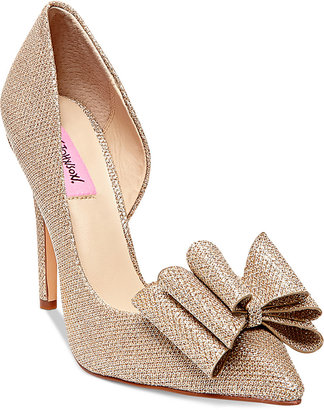 Betsey Johnson Prince d'Orsay Evening Pumps $69 thestylecure.com