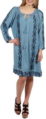 24/7 Comfort Apparel Willow Dress