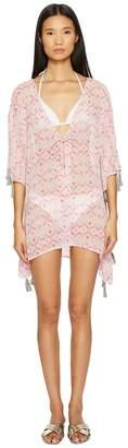 Letarte Ombre Beach Shirt Cover-Up Women's Swimwear