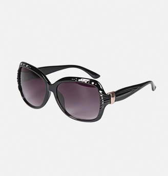 Avenue Rhinestone Frame Sunglasses