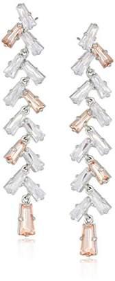 Carolee Blushing Bride Collection Women's Long Linear Drop Earrings