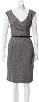 Michael Kors Sleeveless Belted Dress