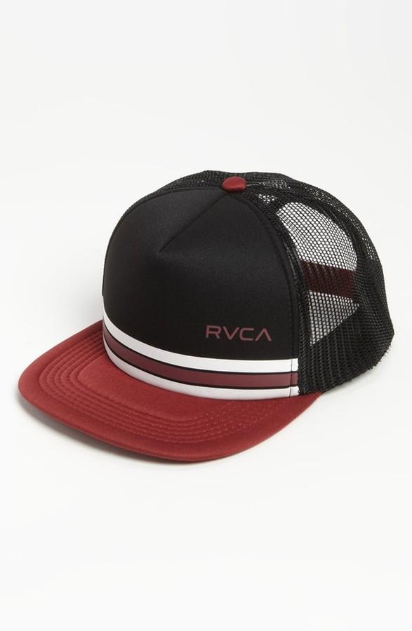 RVCA 'Barlow' Snapback Trucker Hat (Big Boys)