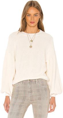 Frame Chunky Balloon Sleeve Sweater