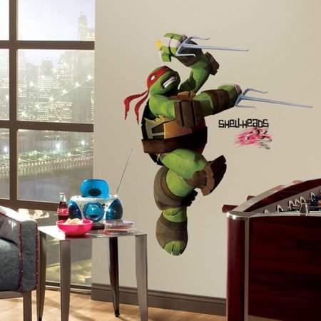 Wallhogs Teenage Mutant Ninja Turtles ''Raphael'' Wall Decal