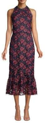 Shoshanna Pocantico Crocheted Lace Dress
