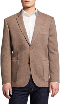 English Laundry Men's Transitional Knit Blazer