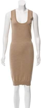 DSQUARED2 Wool Midi Dress
