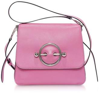 J.W.Anderson Camellia Smooth Calf Leather Disc Bag