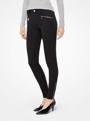 Michael Kors Stretch-Twill Skinny Pants