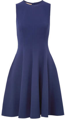 Michael Kors Collection - Wool-blend Crepe Dress - Navy