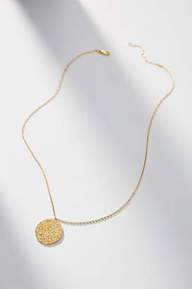 Anthropologie Ancient Treasure Coin Necklace