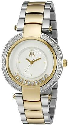 Jivago Women's JV1613 Celebrate Analog Display Swiss Quartz Two Tone Watch