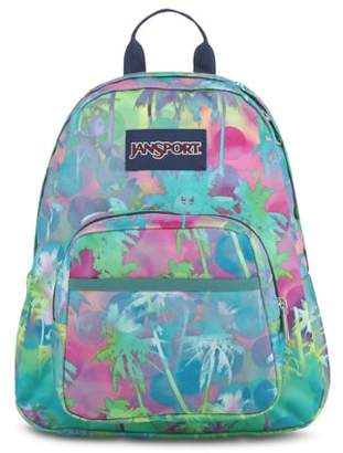 JanSport Half Pint Electric Palm Mini Backpack