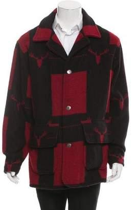 Woolrich Patterned Wool Coat