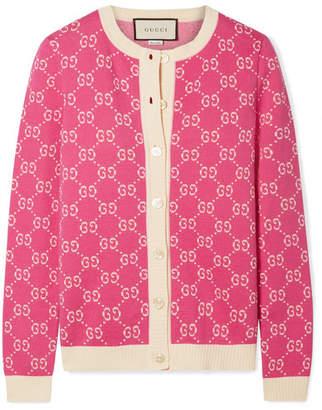 Gucci Cotton-jacquard Cardigan