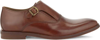 Aldo Catallo leather monkstrap shoes