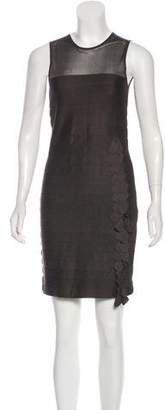 Akris Paneled Mini Dress
