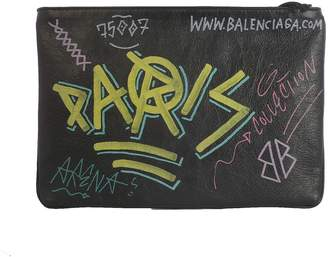 Balenciaga Clutch Graffiti Zip And Pocket On Front