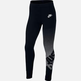 Nike Girls' Sportswear Just Do It Leggings
