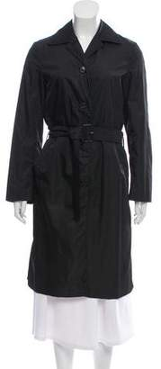Prada Knee-Length Trench Coat