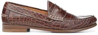 Donald J Pliner NATALE, Croco Leather Loafer