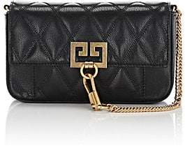 Givenchy Women's Pocket Mini Leather Crossbody Bag - Black