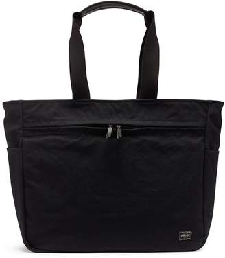 Trunk x PORTER canvas zip tote bag