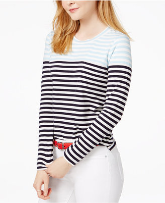 Tommy Hilfiger Striped Top, Only at Macy's $49.50 thestylecure.com