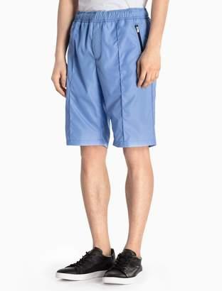 Calvin Klein cotton woven shorts