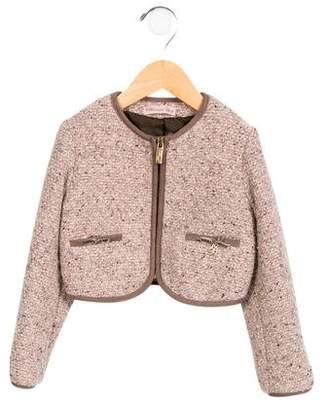 Blumarine Girls' Wool-Blend Jacket