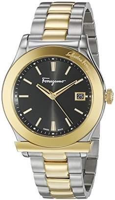 Salvatore Ferragamo Men's FF3910015 1898 Analog Display Quartz Two Tone Watch
