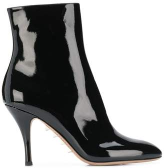 Valentino Rockstud sole ankle boots