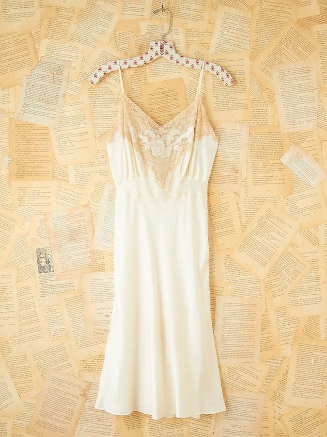 Vintage Lacey Slip Dress