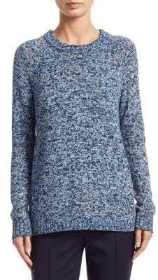 Akris Punto Melange Roundneck Sweater