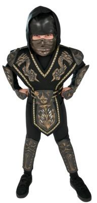Boy's Dragon Warrior Ninja Costume