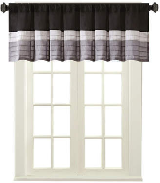 Madison Park Infinity Polyoni Pintuck-Striped Rod-Pocket Valance