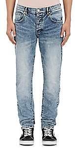 Purple Men's P001 Slim Jeans-Lt. Blue
